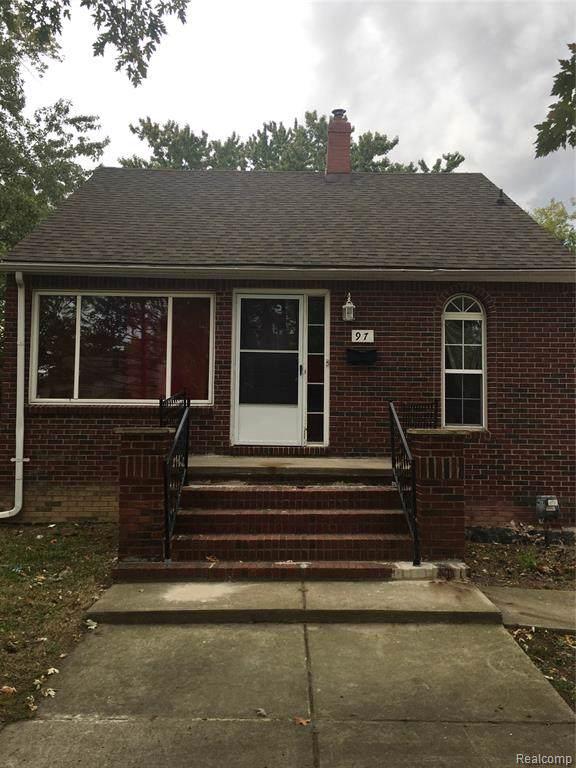 97 New York, Pontiac, MI 48340 (#219106357) :: The Alex Nugent Team   Real Estate One