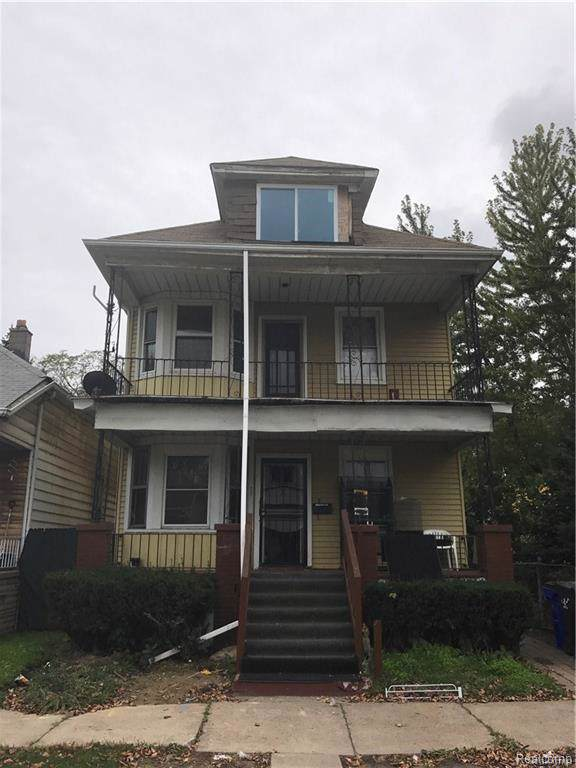 4351 Springwells, Detroit, MI 48210 (#219106989) :: The Buckley Jolley Real Estate Team