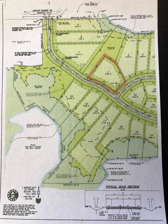 1 Lot 1 Woodchuck Pointe Dr, Coldwater Twp, MI 49036 (#62019051092) :: The Mulvihill Group