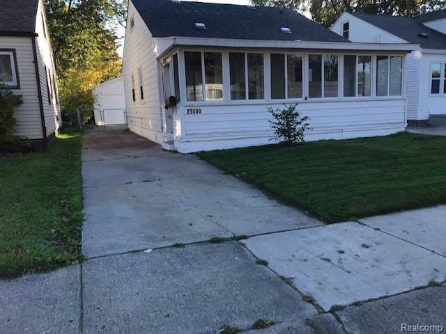 23400 Davey Avenue, Hazel Park, MI 48030 (#219108411) :: The Buckley Jolley Real Estate Team