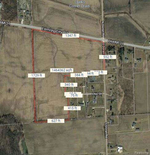 0001 Doran Road, Imlay Twp, MI 48444 (MLS #219108923) :: The Toth Team