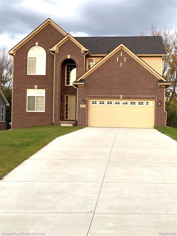 30814 Asbury Hill Drive, Lyon Twp, MI 48165 (#219110151) :: Alan Brown Group