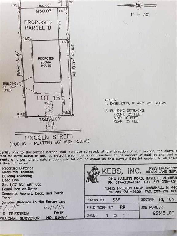0 Lincolin, Durand, MI 48429 (#5031399458) :: GK Real Estate Team