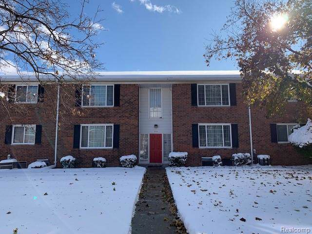 25324 Shiawassee Circle #102, Southfield, MI 48033 (#219115654) :: RE/MAX Nexus