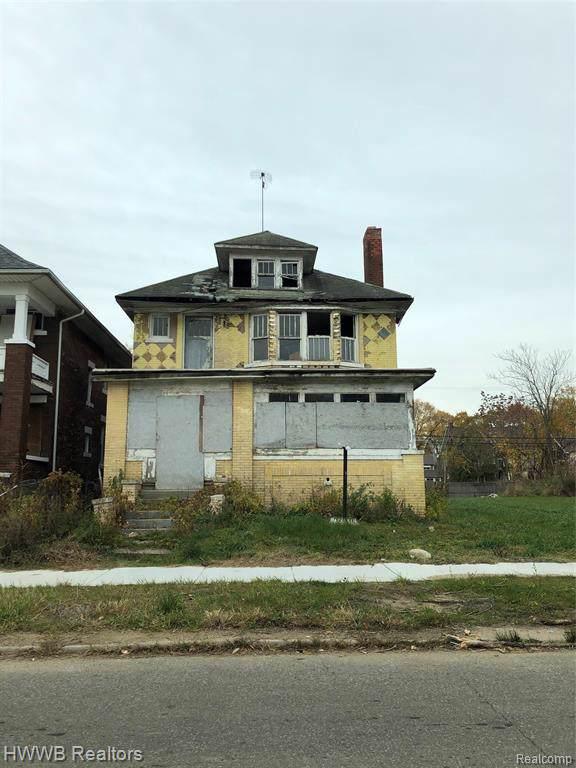 2245 W Euclid Street, Detroit, MI 48206 (MLS #219116228) :: The Toth Team