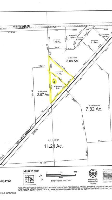 0 Ann Arbor  Saline Road, Lodi, MI 48103 (#543270030) :: RE/MAX Nexus