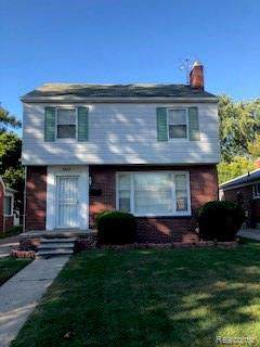 13639 Edmore Drive, Detroit, MI 48205 (MLS #219116398) :: The John Wentworth Group