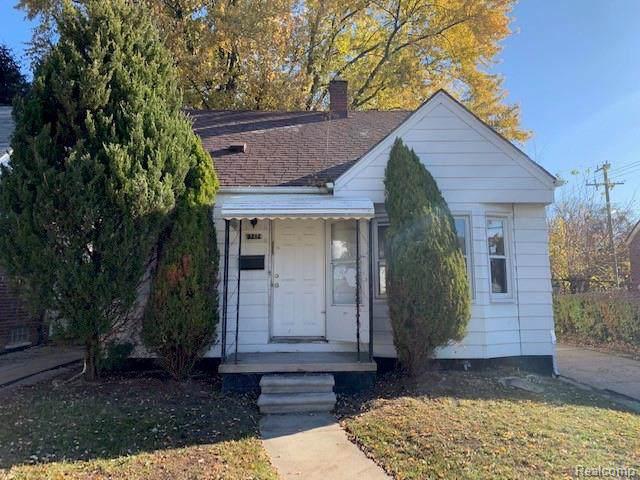 8212 Lauder Street, Detroit, MI 48228 (#219116680) :: Springview Realty
