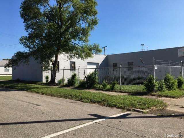 6121 Casmere St Street, Detroit, MI 48212 (#219116721) :: The Buckley Jolley Real Estate Team