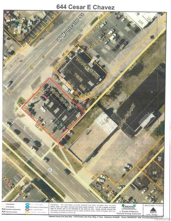 644 Cesar E Chavez Avenue, Pontiac, MI 48342 (#219118725) :: The Buckley Jolley Real Estate Team