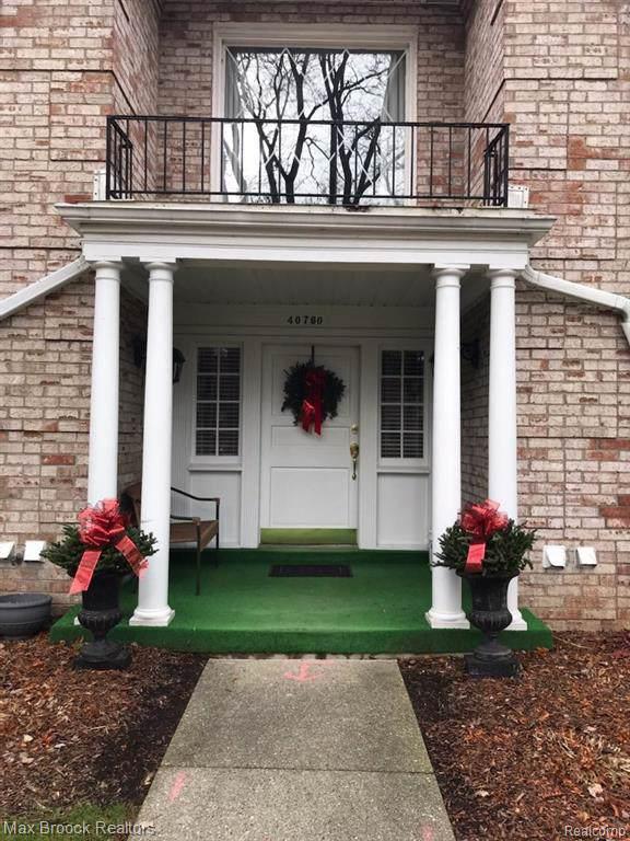 40760 Woodward Avenue #44, Bloomfield Hills, MI 48304 (#219119882) :: Keller Williams West Bloomfield