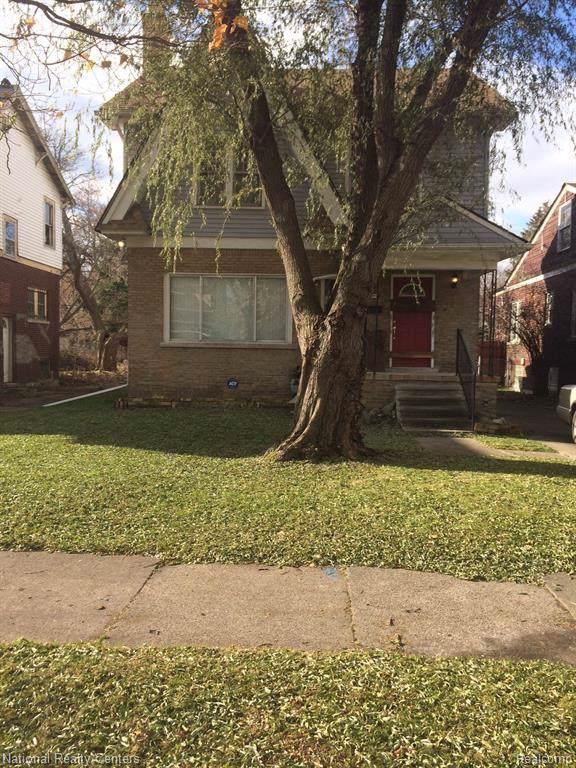 477 Chalmers Street, Detroit, MI 48215 (MLS #219121871) :: The Toth Team