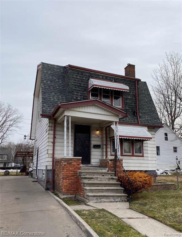 526 Ashland Street, Detroit, MI 48215 (#219122231) :: Springview Realty