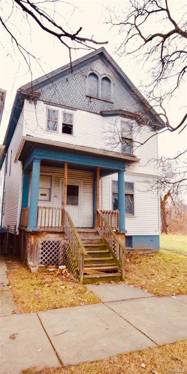 291 Englewood Street, Detroit, MI 48202 (#219122558) :: The Buckley Jolley Real Estate Team