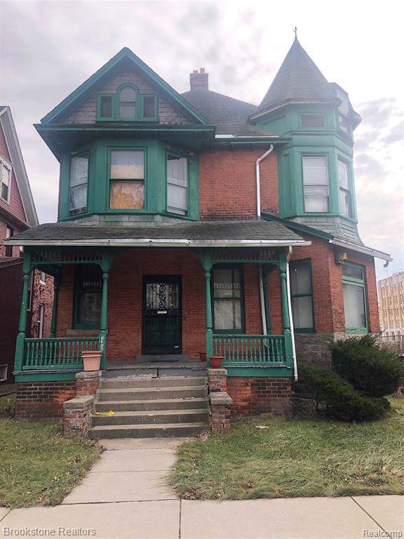240 Chandler Street, Detroit, MI 48202 (#219122628) :: Springview Realty