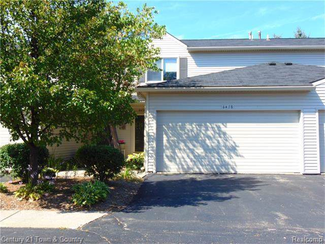 6478 Lochaven, Waterford Twp, MI 48327 (#2200001157) :: The Mulvihill Group