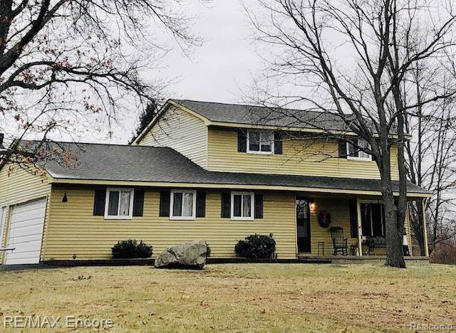 1900 Perry Lake Road, Brandon Twp, MI 48462 (#2200001318) :: The Alex Nugent Team | Real Estate One