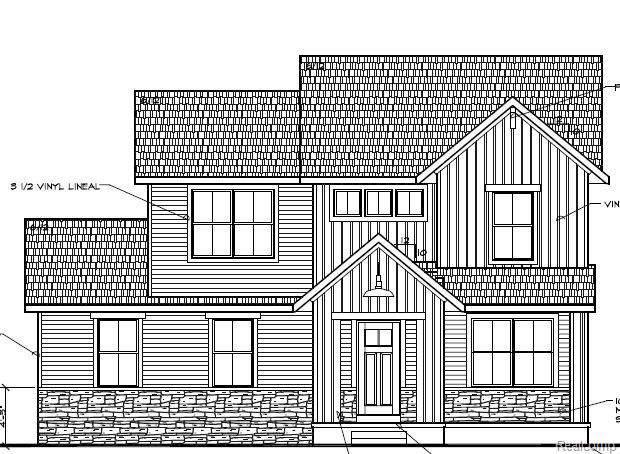 619 Grafton Lane, Howell, MI 48855 (#2200003471) :: The Mulvihill Group