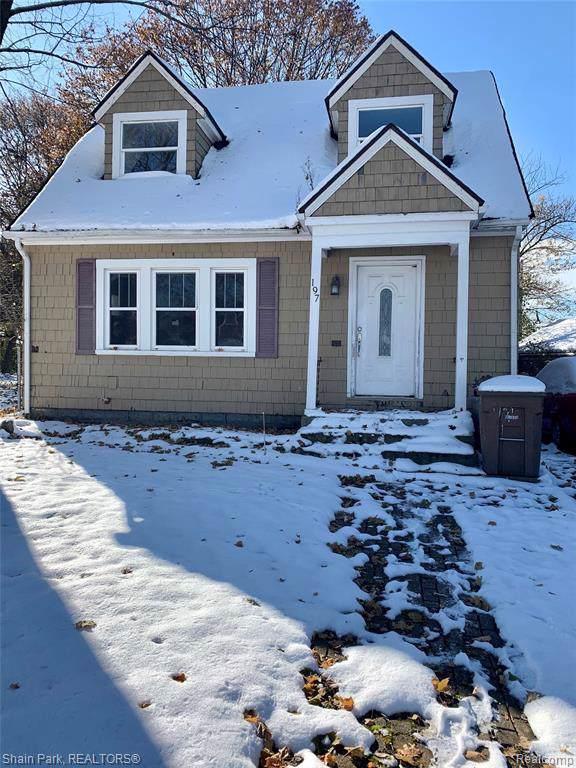 197 Wolfe Street, Pontiac, MI 48342 (#2200004041) :: GK Real Estate Team