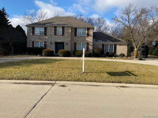 46594 North Valley Drive, Northville, MI 48167 (#2200004227) :: RE/MAX Classic