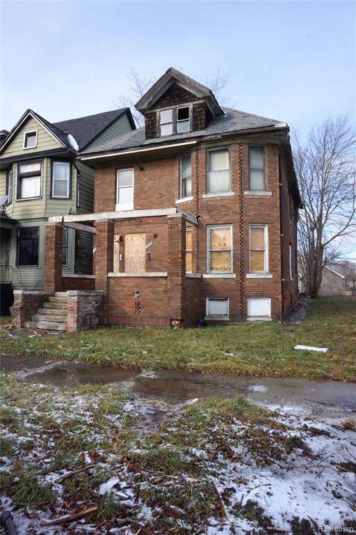 601 King Street, Detroit, MI 48202 (MLS #2200004428) :: The Toth Team