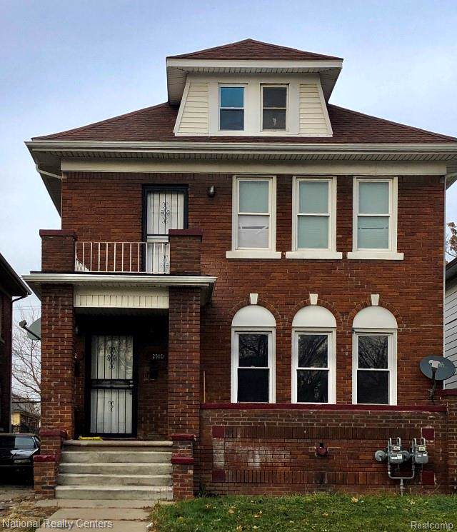 2510 Glendale Street, Detroit, MI 48238 (#2200004765) :: The Alex Nugent Team | Real Estate One