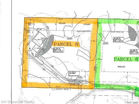 Lot 8 Deadwood Lane, Genoa Twp, MI 48114 (#2200004769) :: Springview Realty