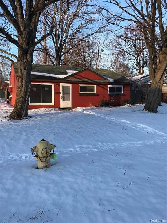 365 2nd Avenue, Pontiac, MI 48340 (#2200005823) :: GK Real Estate Team