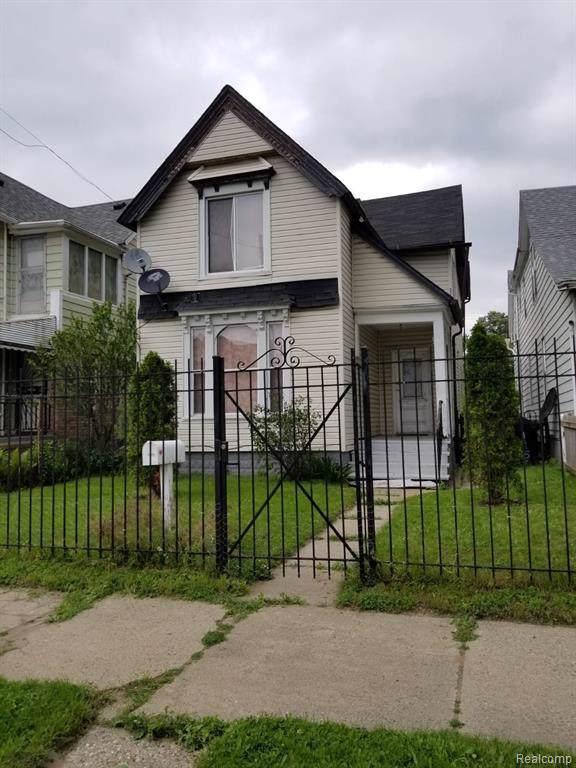 1956 Morrell Street, Detroit, MI 48209 (#2200006572) :: RE/MAX Nexus