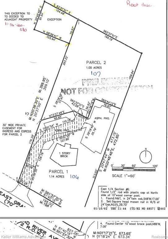 2895 E Grand River Avenue, Genoa Twp, MI 48843 (#2200007183) :: The Buckley Jolley Real Estate Team
