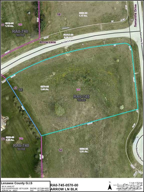 Lot 57 Samantha Dr, Raisin Twp, MI 49229 (#56050004444) :: Real Estate For A CAUSE