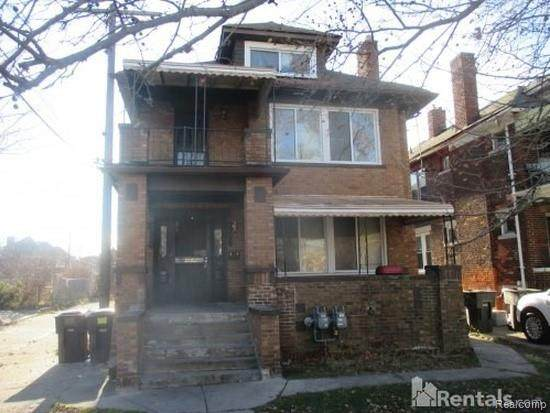 3729 Blaine Street, Detroit, MI 48206 (MLS #2200009105) :: The Toth Team