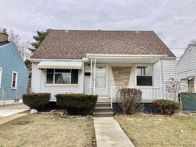 454 Mill Street, Lincoln Park, MI 48146 (#2200009320) :: The Buckley Jolley Real Estate Team