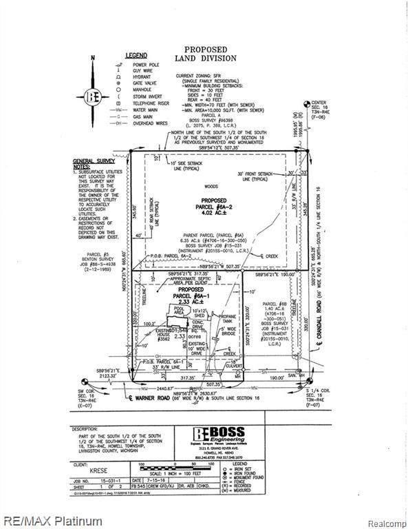 0000 Crandall Road, Howell, MI 48855 (MLS #2200009701) :: The John Wentworth Group