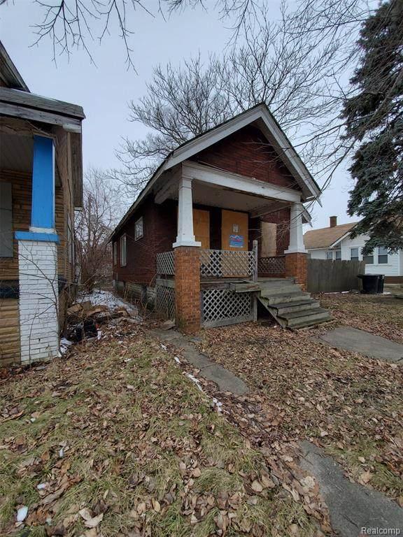 10321 Stoepel Street, Detroit, MI 48204 (MLS #2200013312) :: The Toth Team