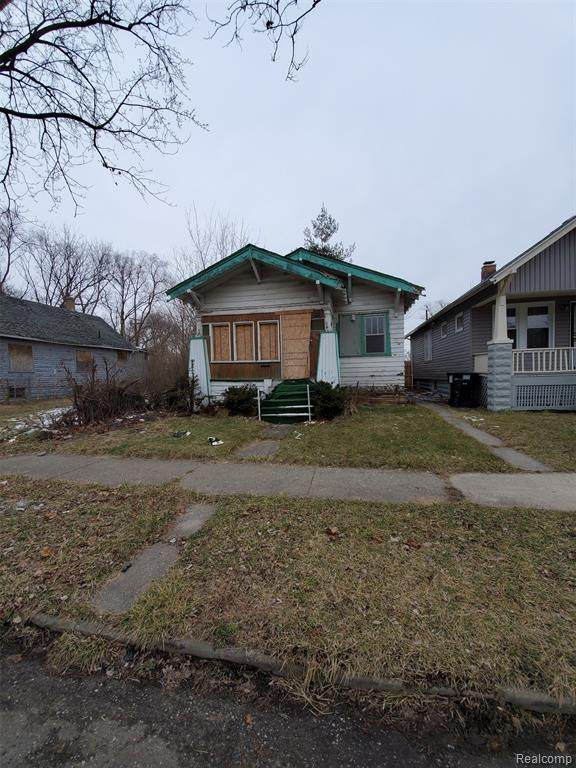 10302 Stoepel Street, Detroit, MI 48204 (MLS #2200013314) :: The Toth Team