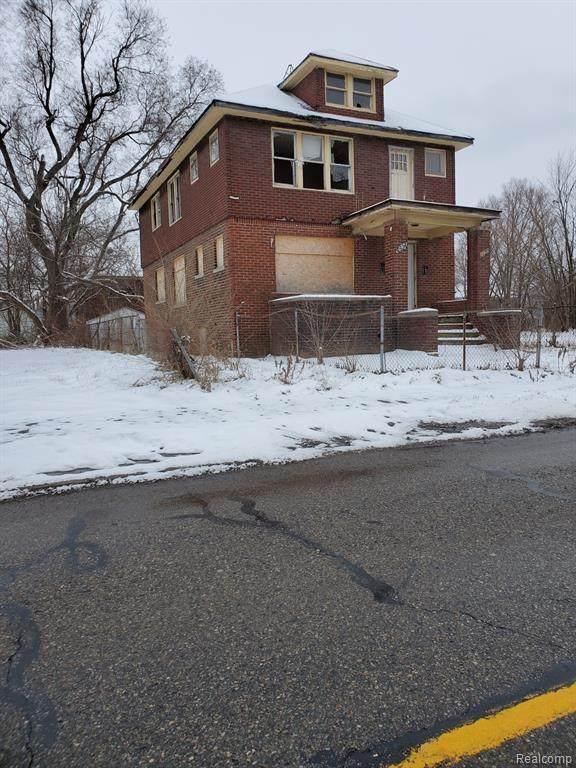 4267 Elmhurst Street, Detroit, MI 48204 (#2200013648) :: The Buckley Jolley Real Estate Team
