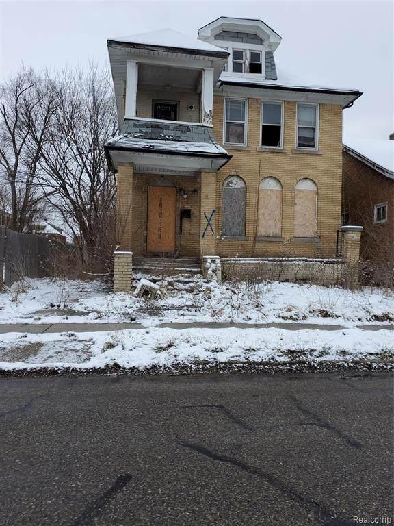 4218 Elmhurst Street, Detroit, MI 48204 (#2200013668) :: The Buckley Jolley Real Estate Team