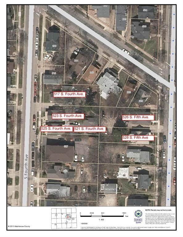 521 S Fourth Avenue, Ann Arbor, MI 48104 (#543271130) :: Alan Brown Group