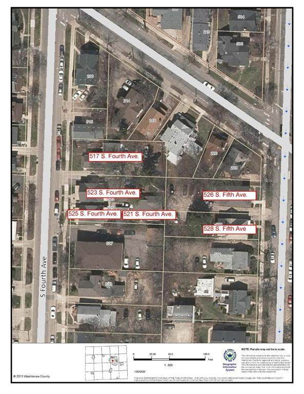 521 S Fourth Avenue, Ann Arbor, MI 48104 (#543271119) :: Alan Brown Group