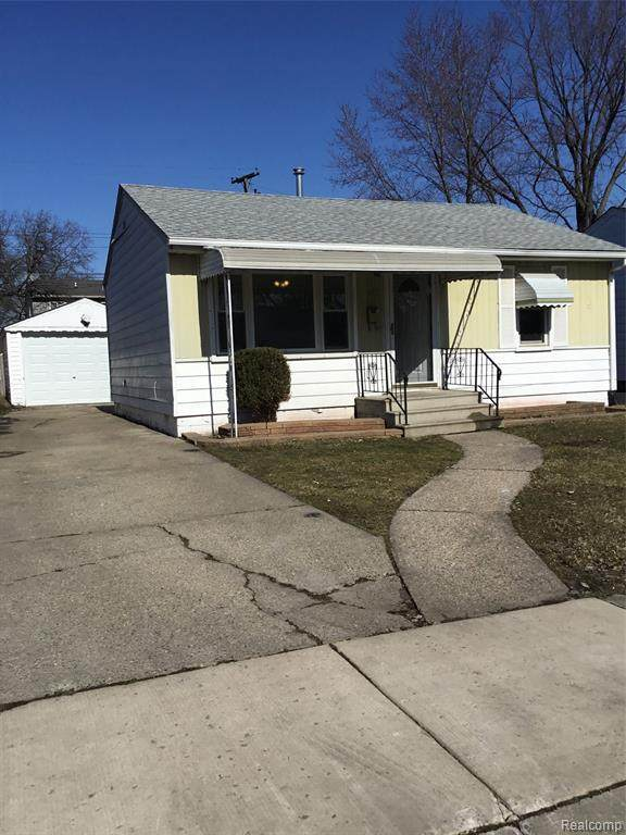 513 E Barrett Avenue, Madison Heights, MI 48071 (#2200013954) :: Alan Brown Group