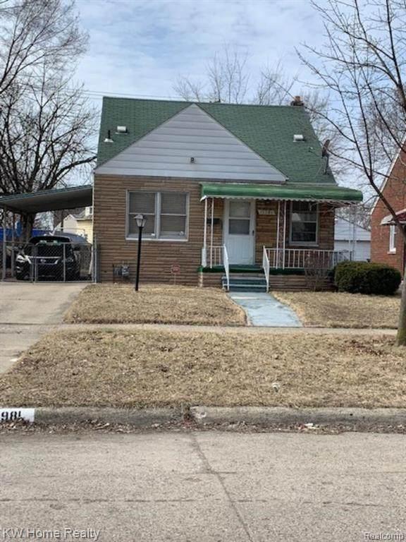 19981 Fleming Street, Detroit, MI 48234 (#2200014309) :: Springview Realty