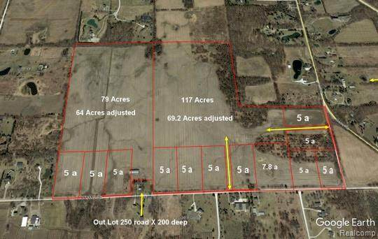 7425 37 Mile Road Road, Bruce Twp, MI 48065 (#2200020310) :: The Mulvihill Group
