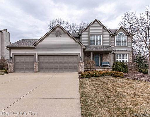 861 Timber Trail Court, South Lyon, MI 48178 (#2200022096) :: The Mulvihill Group