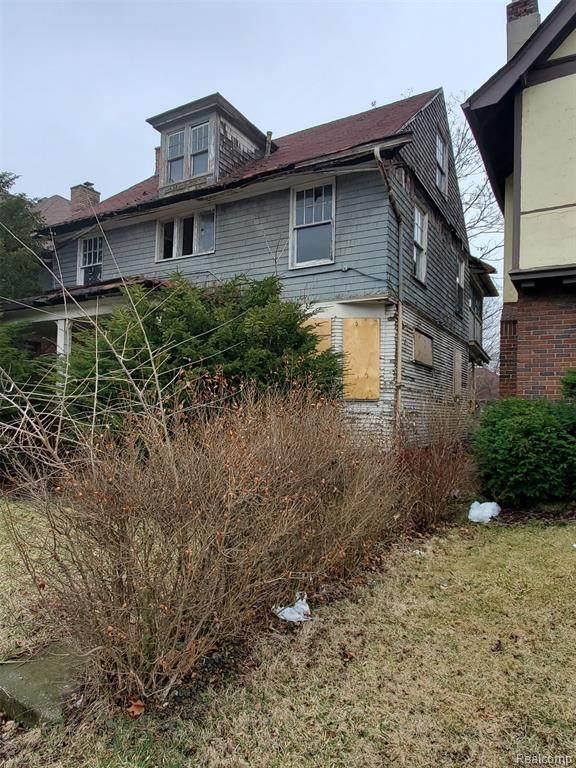891 Edison Street, Detroit, MI 48202 (#2200023246) :: Springview Realty