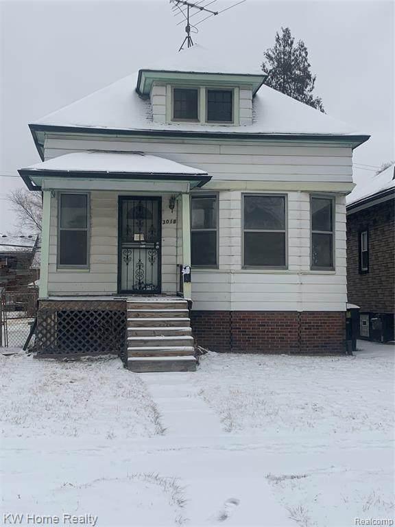 3018 Garland Street, Detroit, MI 48214 (#2200023638) :: Keller Williams West Bloomfield
