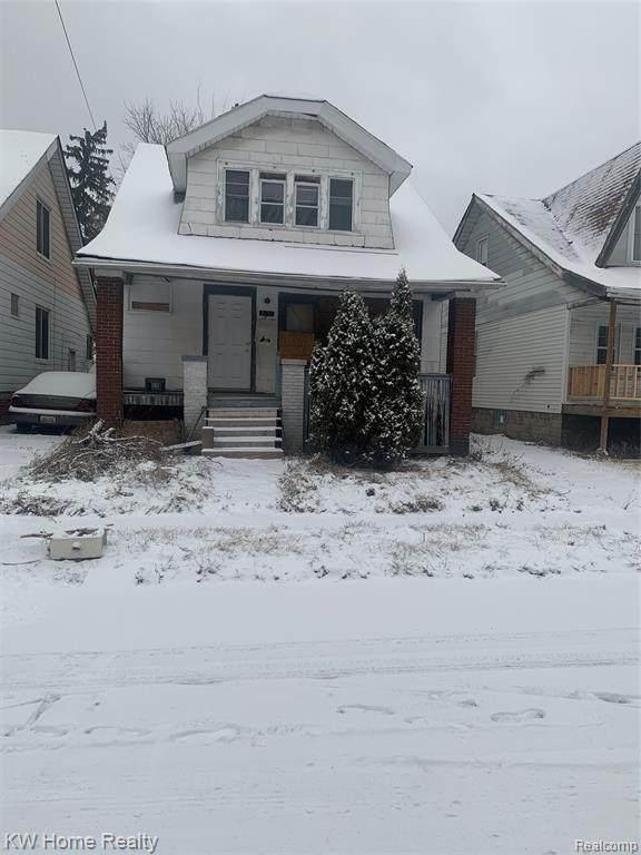 7479 Iowa Street, Detroit, MI 48212 (#2200023789) :: Keller Williams West Bloomfield