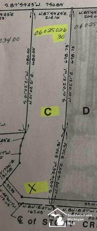 S Stony Creek, Exeter Twp, MI 48117 (MLS #57050009118) :: The John Wentworth Group