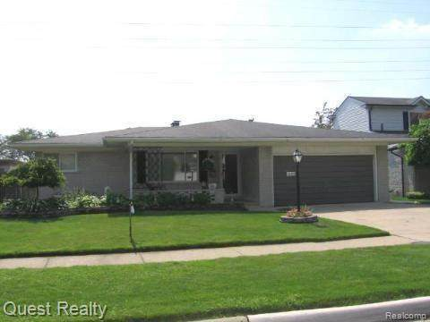 31122 Saratoga Avenue, Warren, MI 48093 (#2200024508) :: Team DeYonker