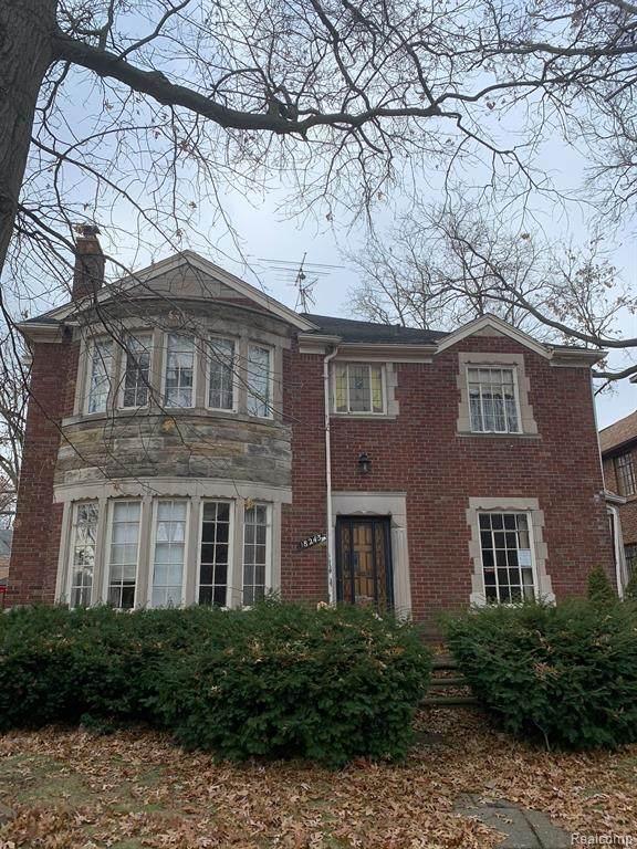 18243 Fairfield Street, Detroit, MI 48221 (#2200024804) :: Springview Realty